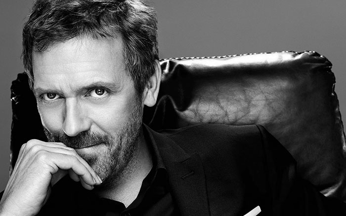 hugh laurie on how to overcome fear