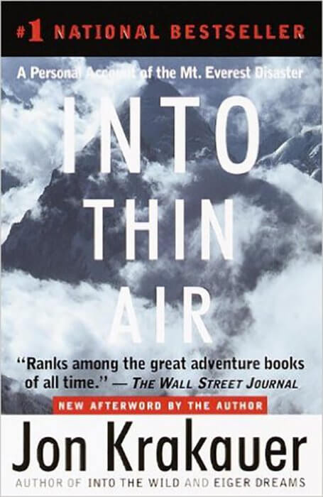 Best biographies and memoirs james clear into thin air by jon krakauer fandeluxe Images
