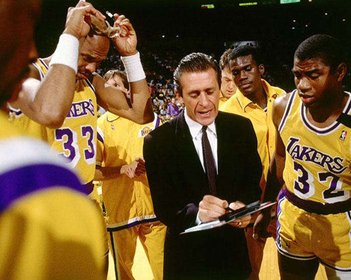 Pat Riley, Los Angeles Lakers head coach, devised a plan to get 1% better.