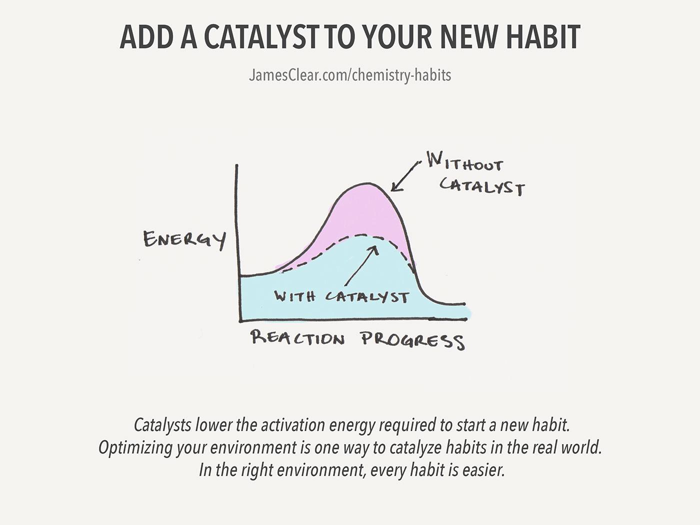 Habit catalyst