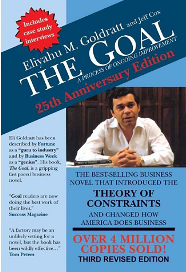the goal goldratt lessons E goldratt has a clear goal in mind he wants to educate the reader about the means alex adopts to achieve success he wants to educate the reader about the means alex adopts to achieve success.