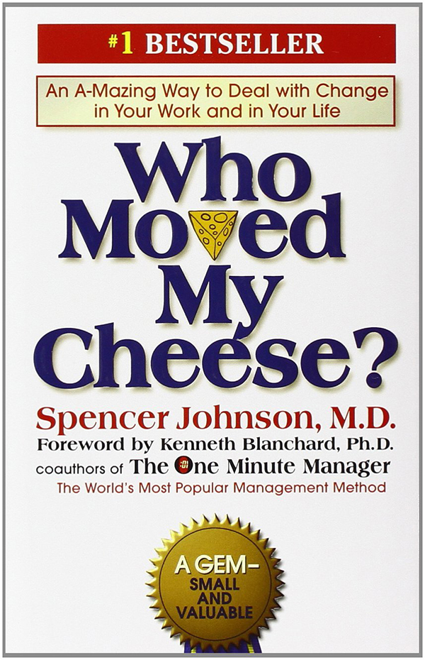summary of the book who moved my cheese by spencer johnson Spencer johnson a group of old school friends is gathered for dinner and the topic of conversation gets on to change - in career, relationships and family life one of those present contends that change no longer bothers him after having heard 'a funny little story' called who moved my cheese.