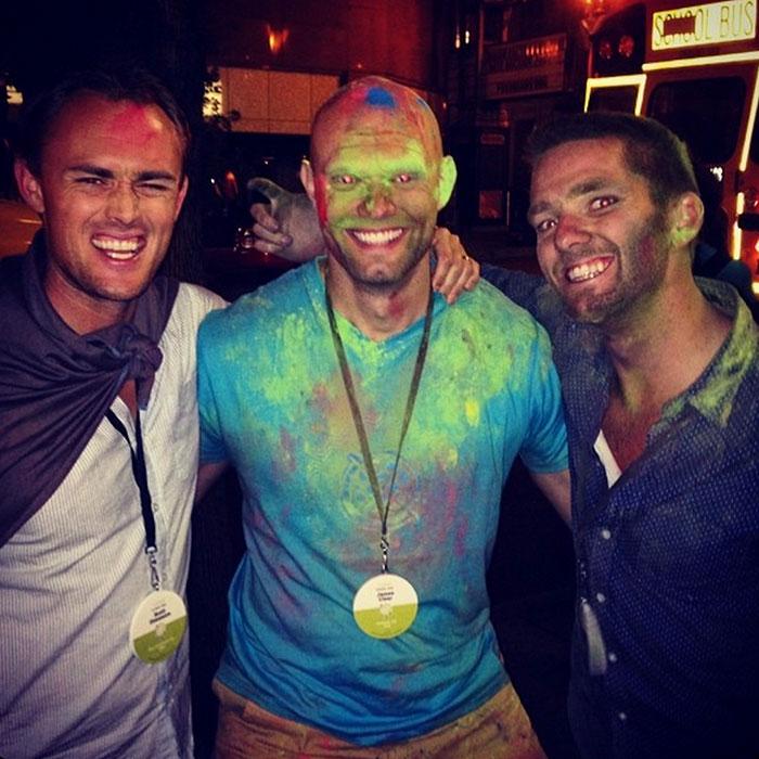Scott, Steve, and James