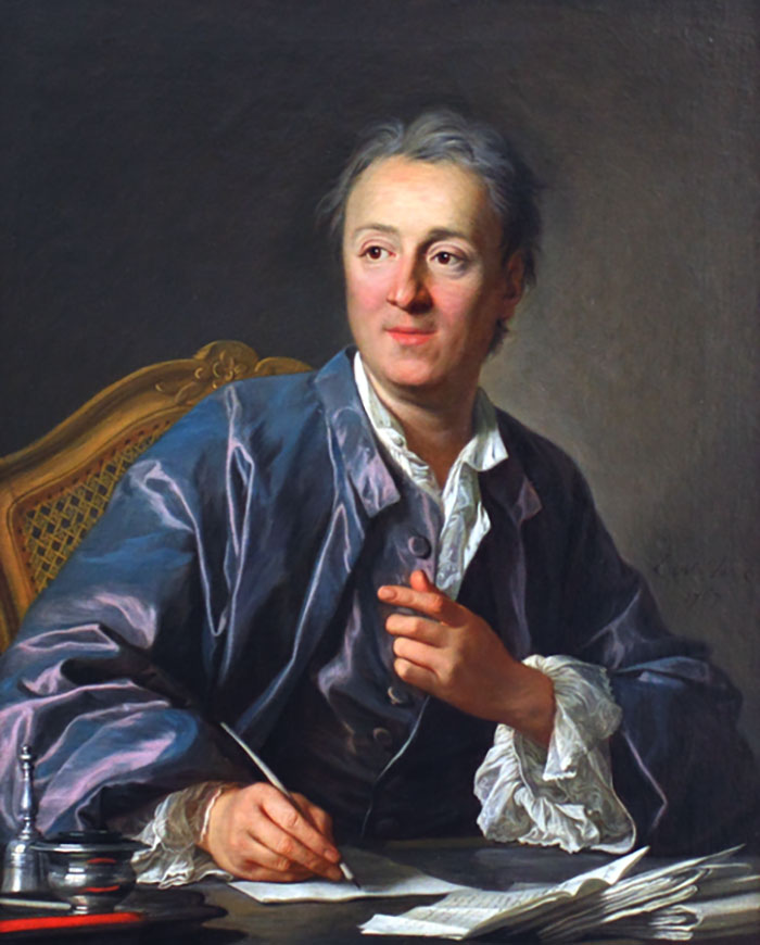 Denis Diderot, discoverer of the Diderot Effect