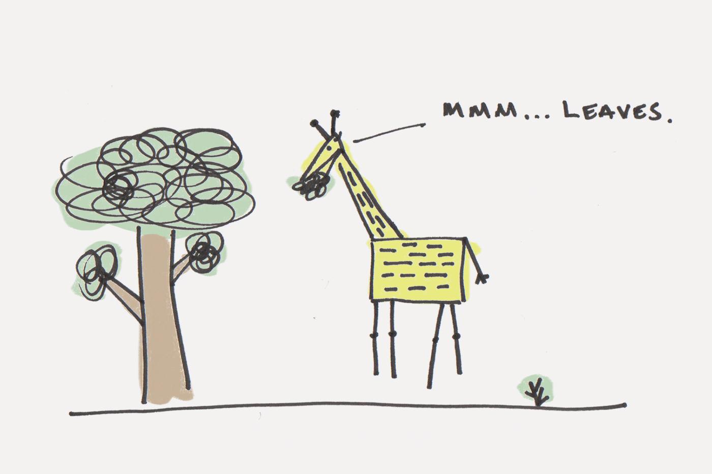 Giraffe (Evolution of Anxiety)