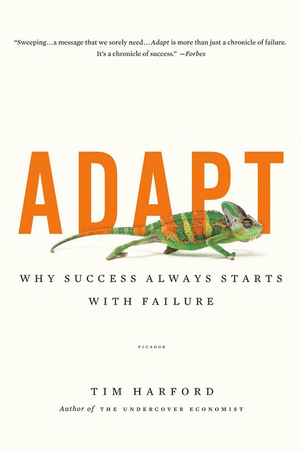 Book Summary  Adapt By Tim Harford