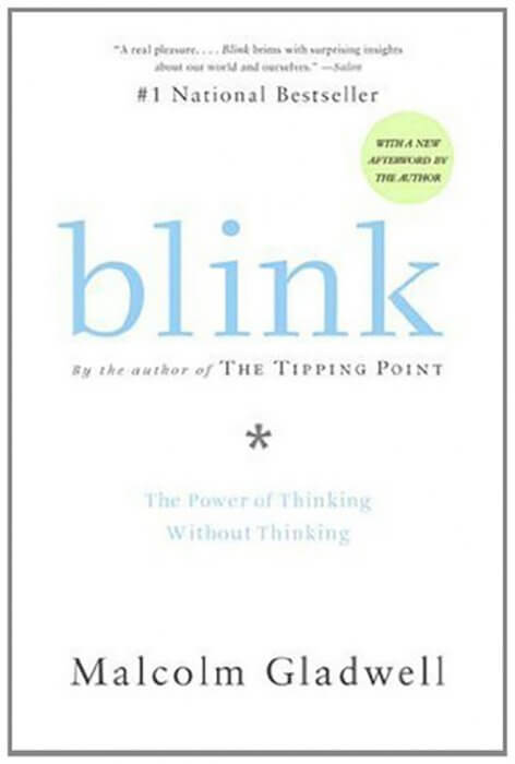thesis of blink malcolm gladwell A publisher sent me a copy of blink a new book by malcolm gladwell gladwell wrote the very popular tipping point about phase transitions which i haven't read the main thesis of blink states that people can make good predictions quickly and with a small amount of information if they have experience or.