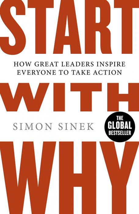 Start with Why: How Great Leaders Inspire Everyone to Take Action by Simon Sinek