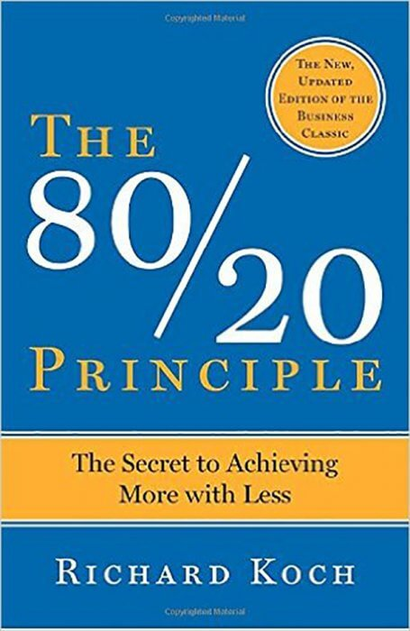 The 80/20 Principle: The Secret to Achieving More with Less by Richard Koch