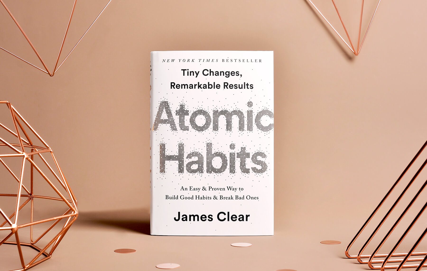 Atomic Habits - James Clear. Bild från jamesclear.com